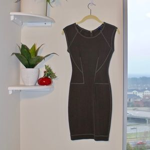 French Connection Dresses - French Collection Army Green Bandage Dress